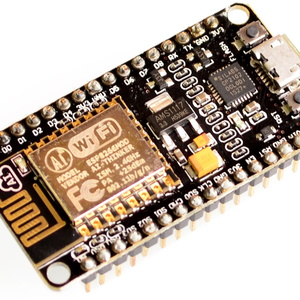 NodeMCU Amica. A very good board for everything but battery powered applications.