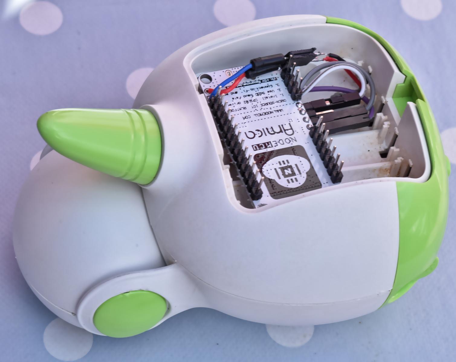 ESP8266-based DIY wifi baby monitor