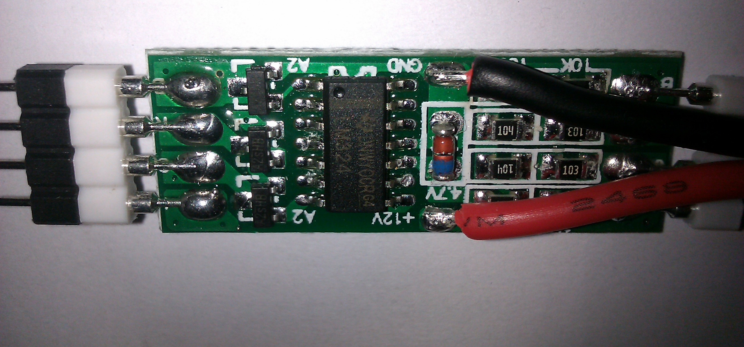 Tearing Down A Rgb Led Strip Amplifier To Magnify Schematic Circuit Diagram Tv Outside Lm324 Op Amp
